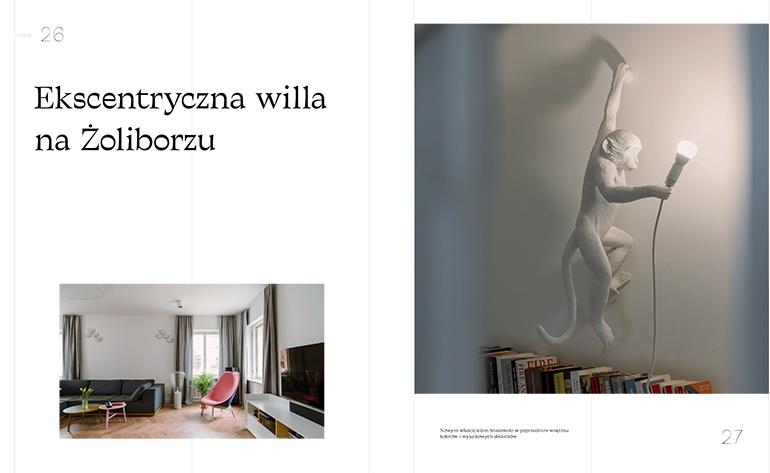 Ekscentryczna willa na Żoliborzu, &Living-0